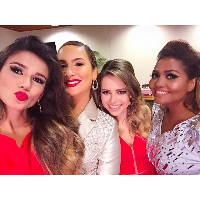 Paula Fernandes, Claudia, Sandy e Gaby Amarantos gravam especial