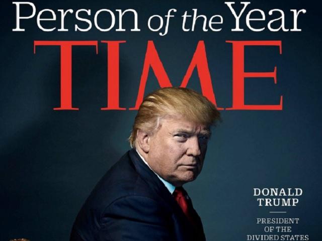 Donald Trump é eleito personalidade do ano pela revista Time