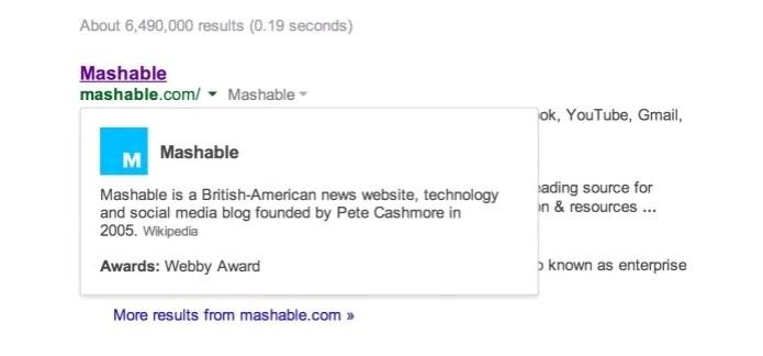 Google atualiza filtro de buscas e adiciona mudanças no menu - Foto: Reprodução/Mashable