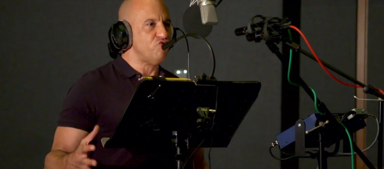 Vin Diesel Grava Em Português Sua única Frase Em Guardiões Da Galáxia
