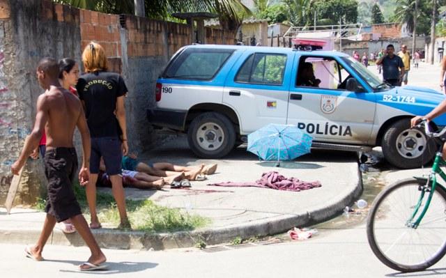 Cinco pessoas são mortas a tiros na Baixada Fluminense
