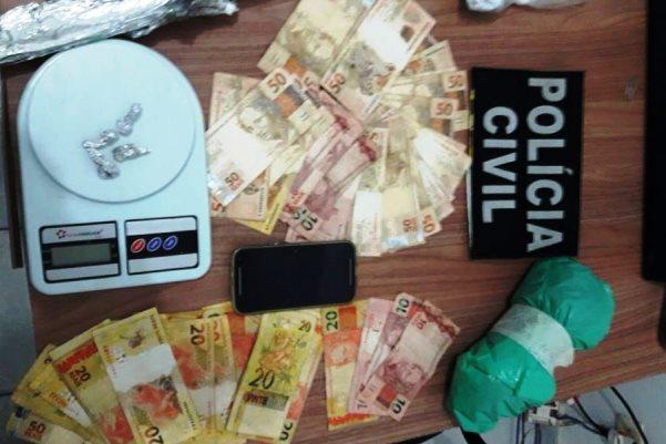 PJC de Colniza apreende arma usada em homicídio e prende traficante