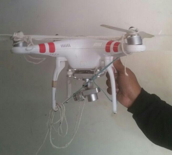 Drone é abatido durante sobrevoo na Penitenciária Central