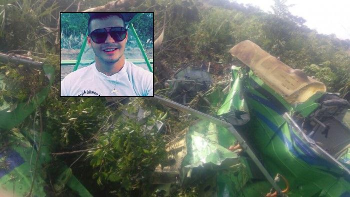 Sorrisense ferido em acidente de avião está fora de perigo
