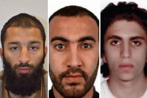 Polícia identifica dois dos três responsáveis pelo ataque em Londres
