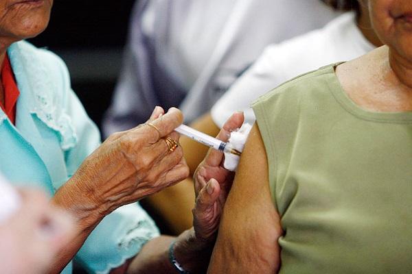 Apenas 53% do público-alvo foram vacinados contra a gripe