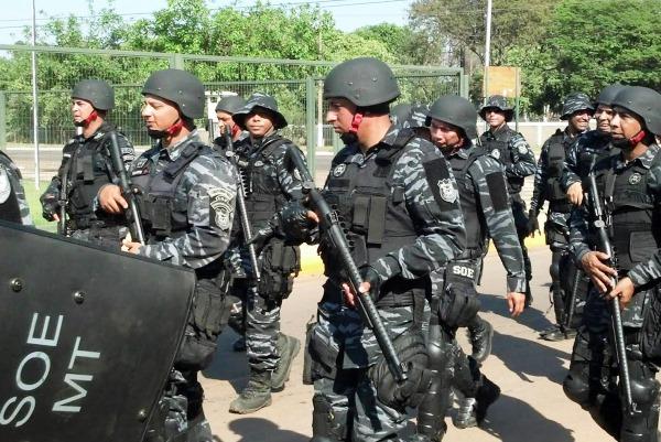 SOE: a força especial dos agentes penitenciários de Mato Grosso