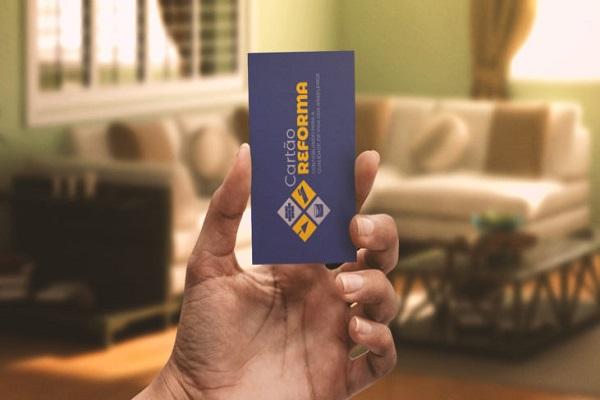 Famílias serão beneficiadas com Cartão Reforma