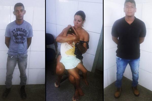 Trio é preso por amarrar motorista e roubar seu caminhão em Cuiabá