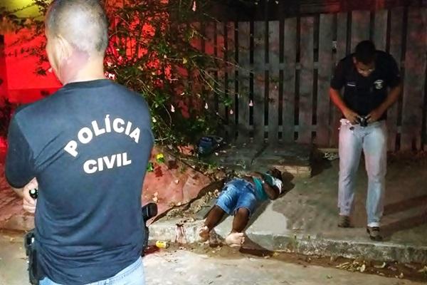 Traficante com diversas passagens é executado com seis tiros em Juína