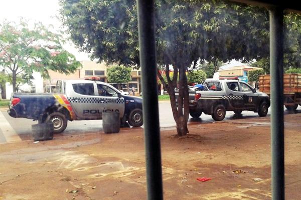 Ladrões roubam correspondente do Bradesco no interior de Mato Grosso