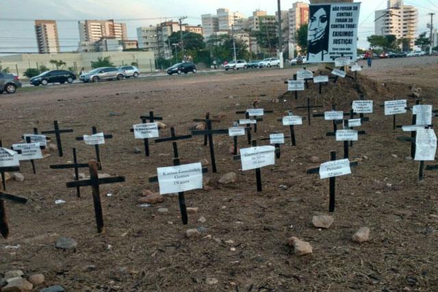 Dia Internacional da Mulher é marcado por protestos em Cuiabá