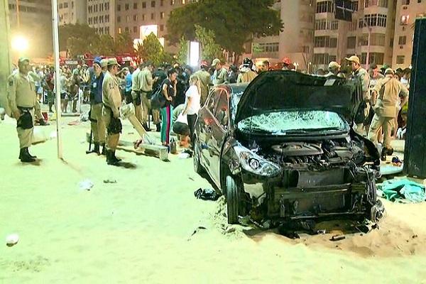 Atropelado em Copacabana é pedófilo foragido
