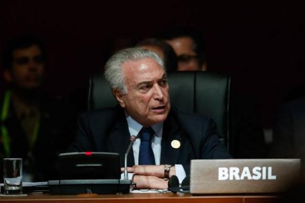 No Peru, Michel Temer diz ter 'profunda preocupação' com ataques na Síria