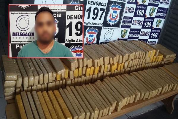 Fotógrafo que estava foragido é preso enquanto cobria apreensão de drogas