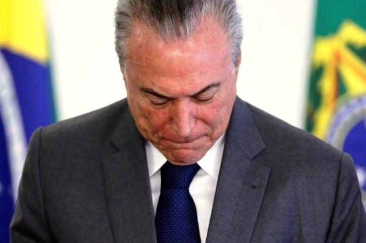 O ex-presidente Michel Temer é preso em São Paulo pela Operação Lava Jato.