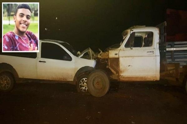 Filho de secretária de cultura morre em acidente na BR-163 em Peixoto de Azevedo