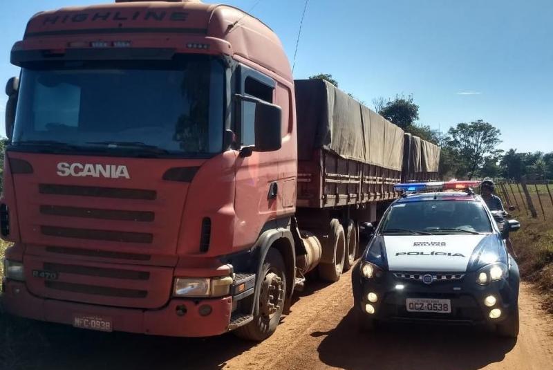 Nove veículos recuperados durante o fim de semana em Mato Grosso