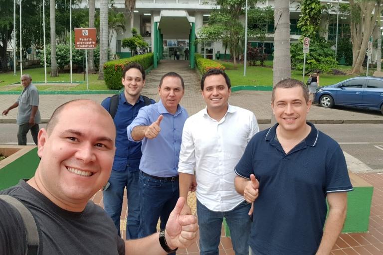 Diego Guimarães é o nome escolhido por vereadores da oposição para concorrer à prefeitura