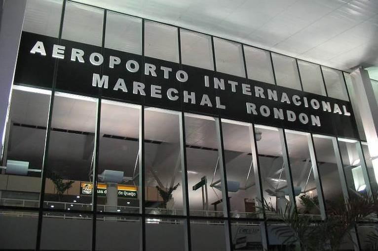 Receita trava início de voos internacionais no Marechal Rondon - Circuito Mato Grosso