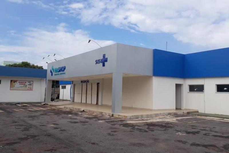 Secretaria de Saúde retoma obra paralisada no Hospital Regional de Sinop - Circuito Mato Grosso